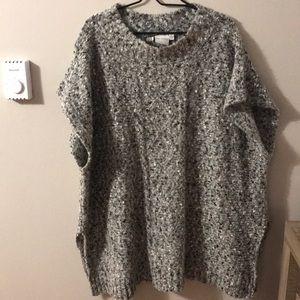 Junarose Poncho Sweater